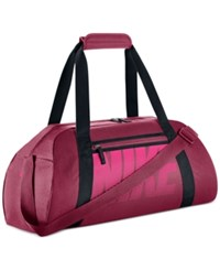 Nike Gym Club Duffel Bag Nobel Red Black Hyper Pink