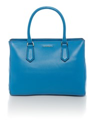 Coccinelle Oslo Blue Medium Ew Tote Bag Blue