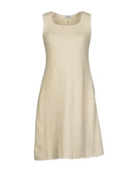 Base London Base Short Dresses Light Green