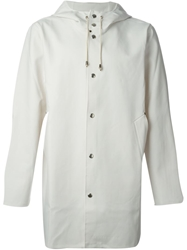 'Stockholm' Raincoat White