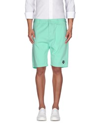 Love Moschino Trousers Bermuda Shorts Men Light Green