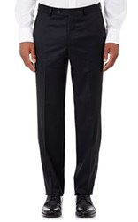 Barneys New York Men's Twill Trousers Black