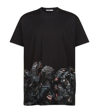 Givenchy Screaming Monkey Colombian T Shirt Male Black