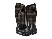 Bogs Plimsoll Plaid Tall Black Women's Cold Weather Boots