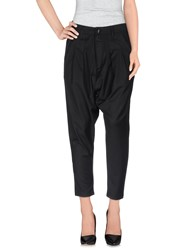 Minimal Trousers Casual Trousers Women Black