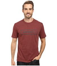 Merrell M Stamped Tee Andorra Men's T Shirt Red