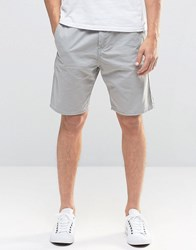 Bench Slim Fit Twill Shorts Grey