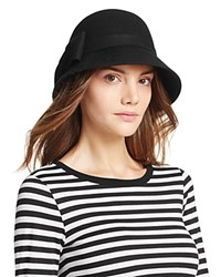 Kate Spade New York Cloche With Bow Black