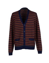 Marc By Marc Jacobs Knitwear Cardigans Men Dark Blue
