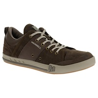 Merrell Rant Dash Suede Trainers Black Slate