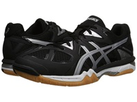 Asics Gel Tactic Black Onyx Silver Men's Volleyball Shoes