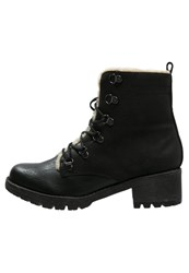 Anna Field Laceup Boots Black