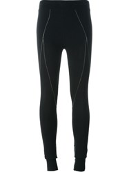 Thom Krom Stitch Detail Leggings Black