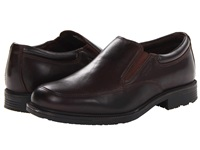 Rockport Essential Details Waterproof Slip On Dark Brown Men's Slip On Shoes
