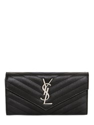Saint Laurent Quilted Leather Large Wallet