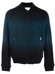 Dondup Knit Detail Bomber Jackets Black