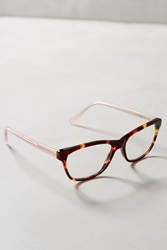 Anthropologie Catton Reading Glasses Brown Motif