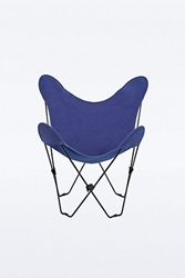 Butterfly Chair Cover In Navy Urban Outfitters