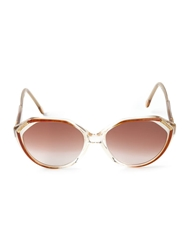 Yves Saint Laurent Vintage Tinted Sunglasses Nude And Neutrals