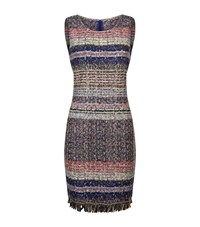 St. John Ellah Boucle Knit Dress Female Multi