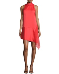 Camilla And Marc Sleeveless High Neck Asymmetric Hem