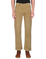 Cotton Belt Casual Pants Khaki