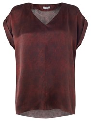 Jigsaw Coldwater Dye Top Rosewood