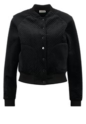 Noisy May Nmasa Bomber Jacket Black