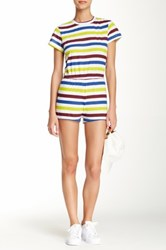 American Apparel T Shirt Romper Multi