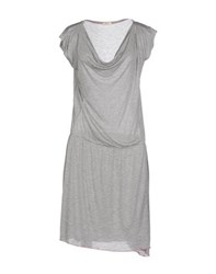 Altea Dresses Knee Length Dresses Women Light Grey
