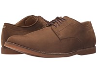 Sebago Norwich Oxford Brown Nubuck Men's Lace Up Casual Shoes