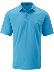 Peter Millar Men's Featherweight Polo Blue