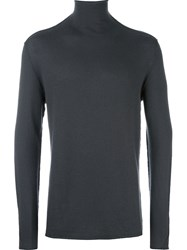 Transit Turtleneck Pullover Grey