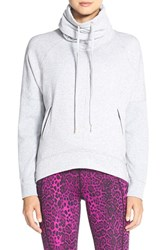 Women's Betsey Johnson Cowl Neck High Low Pullover