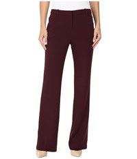 Ellen Tracy Signature Trousers Fig Women's Casual Pants Brown