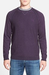 Men's Tommy Bahama 'Barbados Crew' Pullover Sweater Royalty Purple