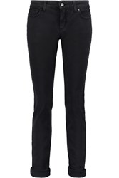Mcq By Alexander Mcqueen Mid Rise Straight Leg Jeans Black