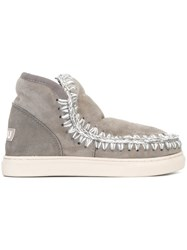 Mou 'Mini Eskimo' Boots Grey