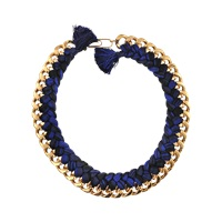 Aurelie Bidermann Do Brasil Single Braided Necklace
