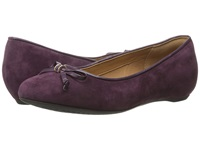 Clarks Alitay Giana Purple Suede Women's Slip On Dress Shoes
