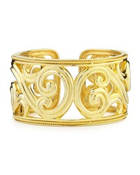 Paisley 18K Gold Hinged Cuff Bracelet Eli Jewels