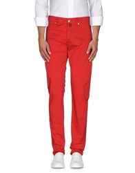 Pt05 Trousers Casual Trousers Men Red