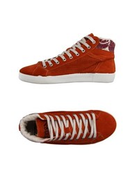 Springa Footwear High Tops And Trainers Women Orange
