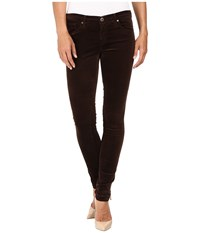 Ag Adriano Goldschmied Leggings In Bordeaux Brown Bordeaux Brown Women's Jeans