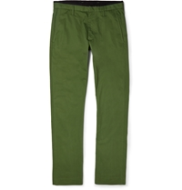 Marc By Marc Jacobs Cotton Chinos Green