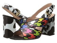 Boutique Moschino Strap Sandal Multicolour Women's Dress Sandals Purple