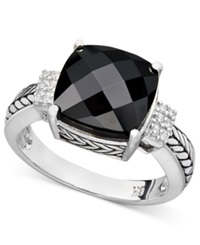 Effy Collection Brasilica By Effy Onyx 5 1 5 Ct. T.W. And Diamond Accent In Sterling Silver