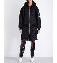 Hood By Air Against Cotton Quilted Jacket Black