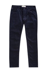 French Connection Ski Stretch Corduroy Trousers Blue