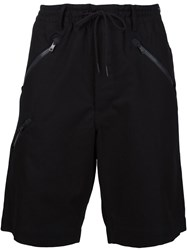 Y 3 Knee Length Shorts Black